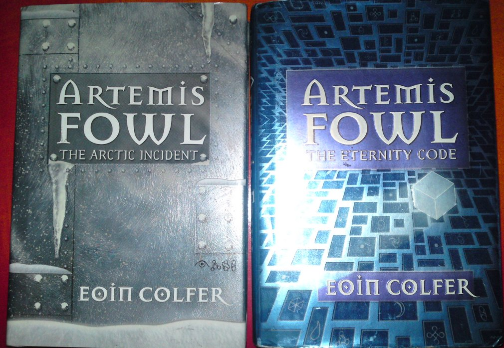 "an analysis of eoin colfers fantasy book artemis fowl the eternity code Artemis fowl is a series of eight science fantasy novels, starring teenage criminal mastermind artemis fowl ii colfer summed up the series as: ""die hard"" with fairies."