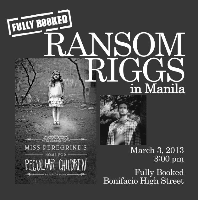Ransom-Riggs in Manila