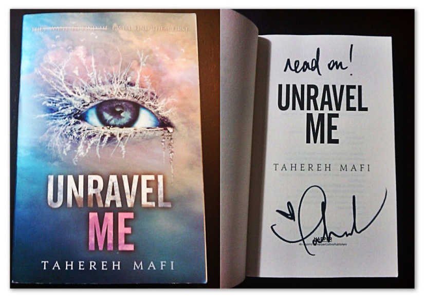 unravel me signed