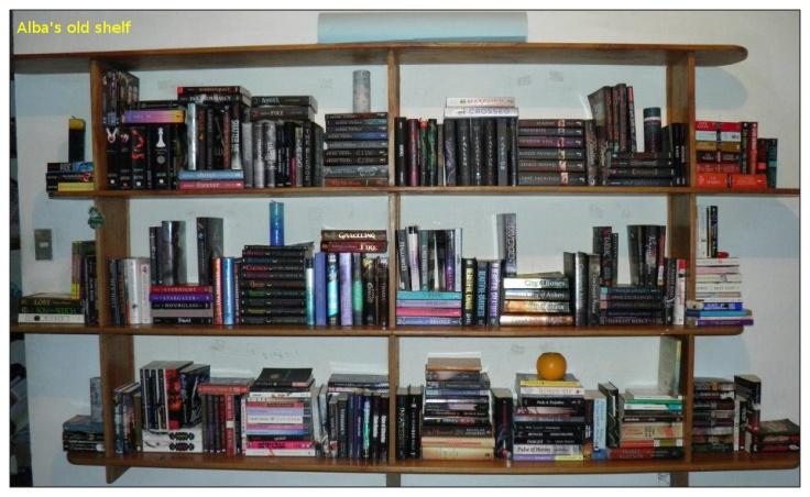 Alba's Old shelf