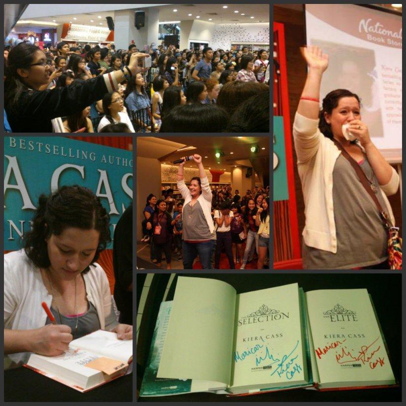 Kierra Cass Book Signing in Manila