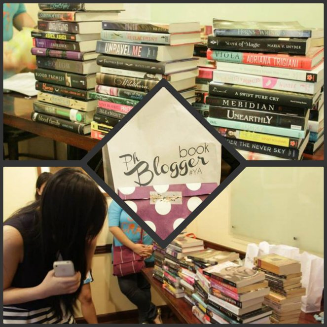 PBT Christmas Party Book Pile Swap & Swags