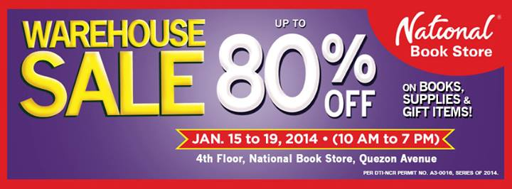 NBS Warehouse Sale