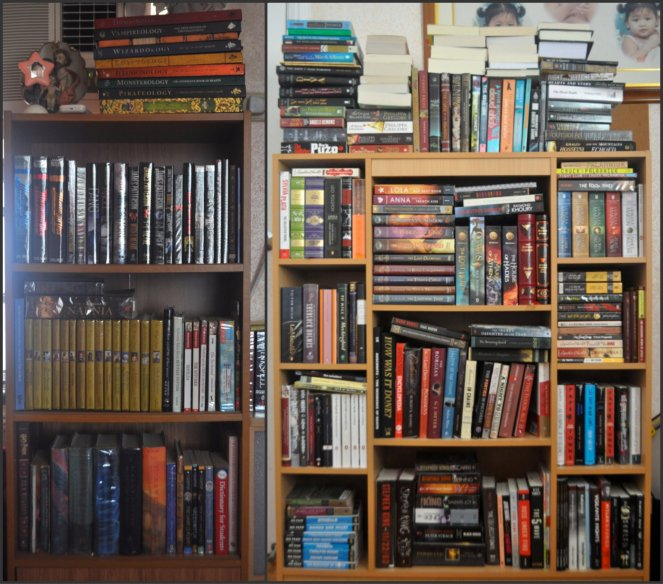 Kayla's Bookshelves