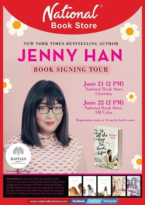 Jenny Han PH Book Signing
