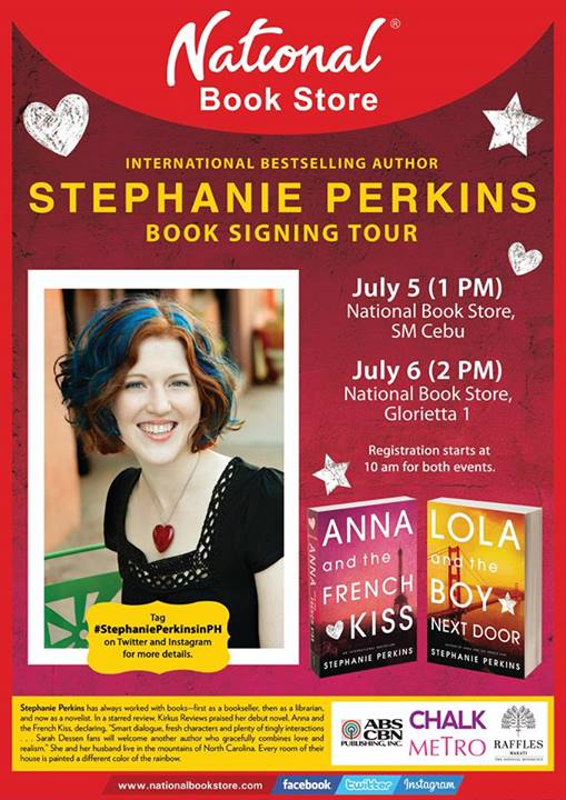 Stephanie Perkins Book Signing Tour PH