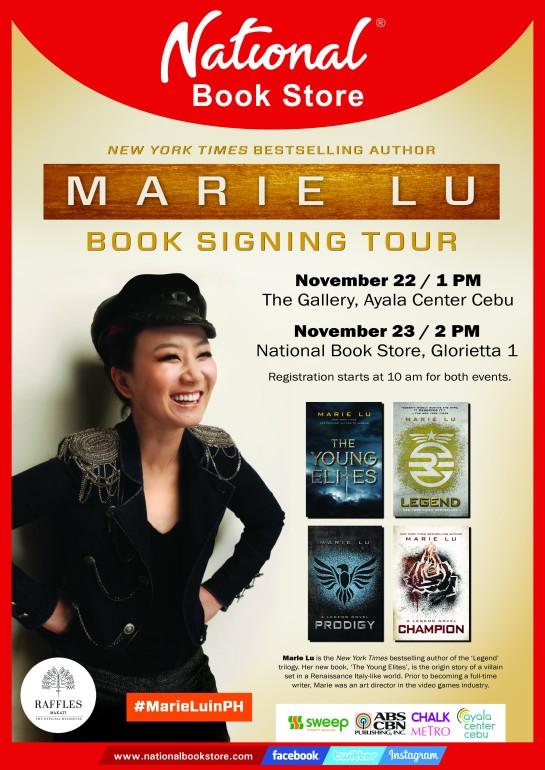 Marie Lu in PH