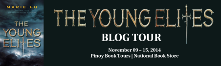 The Young Elites Blog Tour Banner