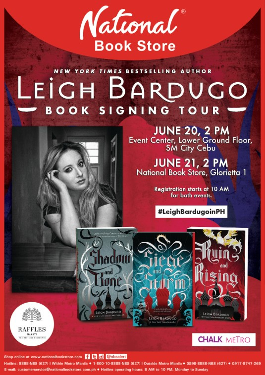 Poster - Leigh Bardugo