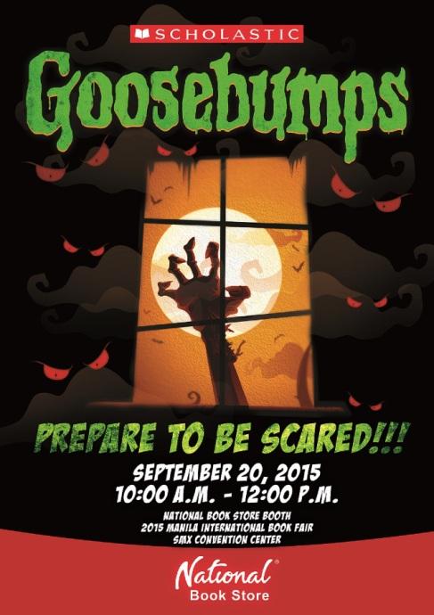 Goosebumps Poster MIBF 2015