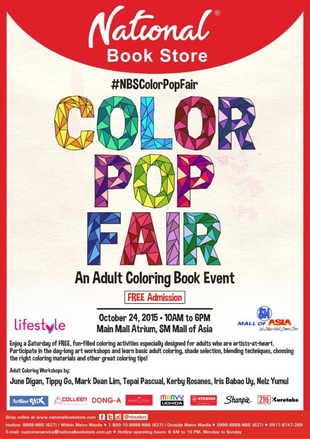 Color Pop Fair Poster