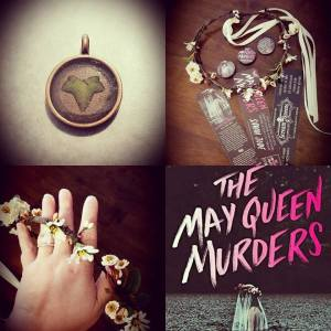 May Queen Murders giveaway prizes