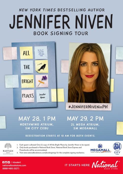 Poster - Jennifer Niven