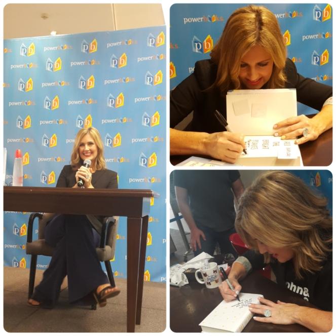 Jennifer Niven signing my book