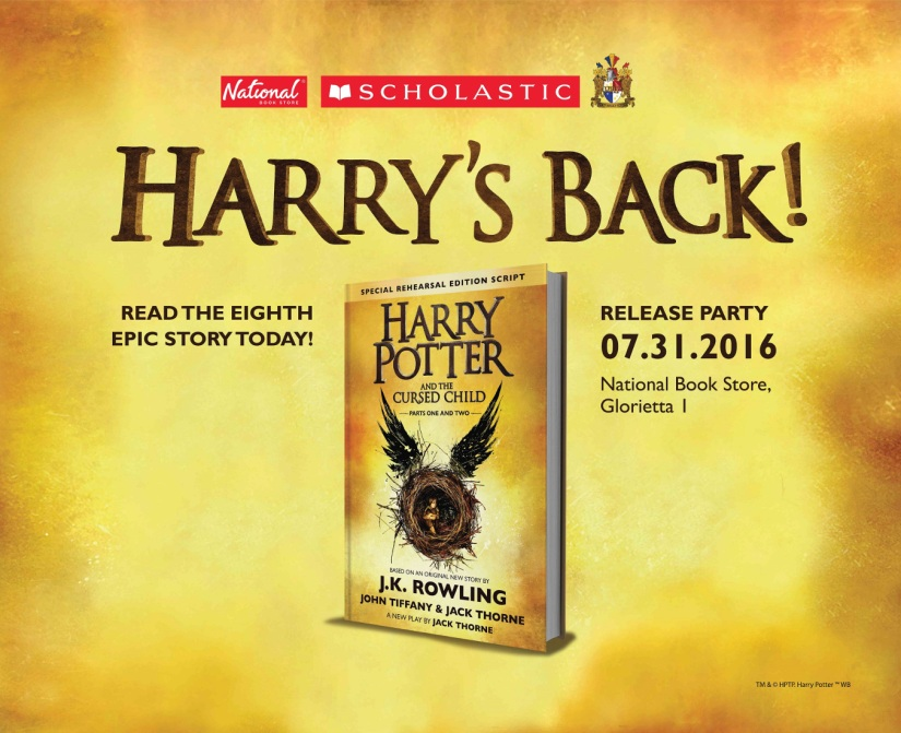 HP8 Party Announcement